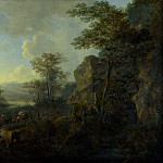 Part 4 National Gallery UK - Jan Both - A Rocky Landscape with Peasants and Pack Mules