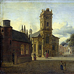 Part 4 National Gallery UK - Jan van der Heyden - A Square before a Church