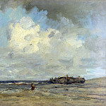 Part 4 National Gallery UK - Jacob Maris - A Beach