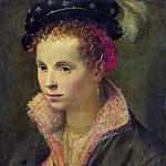 Italian, North – Portrait of a Lady in a Plumed Hat, Part 4 National Gallery UK