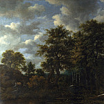 A Pool surrounded by Trees, Jacob Van Ruisdael