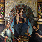 The Virgin and Child with Saints, Jean Mayne