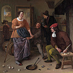 The Interior of an Inn (), Jan Havicksz Steen