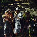 The Walk to Emmaus, Lelio Orsi