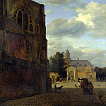 Part 4 National Gallery UK - Jan van der Heyden - An Imaginary View of Nijenrode Castle