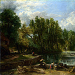 John Constable – Stratford Mill, Part 4 National Gallery UK