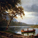 Albert Bierstadt - Bierstadt Albert Salmon Fishing on the Cascapediac River