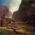 Albert Bierstadt - Bierstadt Albert Hatch Valley California
