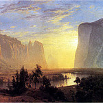 Bierstadt Albert Yosemite Valley Yellowstone Park, Albert Bierstadt
