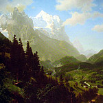 The Wetterhorn, Albert Bierstadt