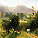 Bierstadt Albert Conway Valley New Hampshire, Albert Bierstadt
