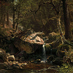 The Mountain Brook, Albert Bierstadt