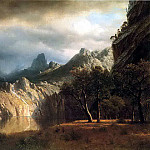 Albert Bierstadt - Bierstadt Albert In Western Mountains
