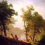 The Wolf River, Albert Bierstadt