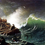 Albert Bierstadt - Bierstadt Albert Seals on the Rocks Farallon Islands