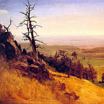 Newbraska Wasatch Mountains, Albert Bierstadt