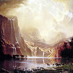Among the Sierra Nevada Mountains, Albert Bierstadt