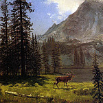 Bierstadt Albert Call of the Wild, Albert Bierstadt
