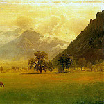Albert Bierstadt - Bierstadt Albert Rhone Valley