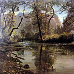 Bierstadt Albert Yosemite Valley California, Albert Bierstadt