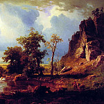 Albert Bierstadt - North Fork of the Platte Nebraska