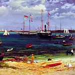 Albert Bierstadt - Nassau Harbor After 1877