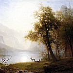 Bierstadt Albert Valley in Kings Canyon, Albert F King