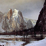 Albert Bierstadt - Cathedral Rock