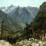 Bierstadt Albert The Sierra Nevadas, Albert Bierstadt