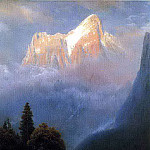 Albert Bierstadt - Bierstadt Albert Storm Among the Alps