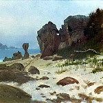 Bierstadt Albert Bay of Monterey, Albert Bierstadt
