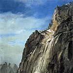 Bierstadt Albert Cathedral Rocks A Yosemite View, Albert Bierstadt