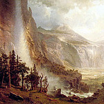 The Domes of the Yosemite, Albert Bierstadt