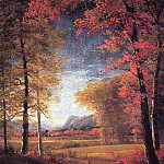 Bierstadt Albert Autumn in America Oneida County New York, Albert Bierstadt
