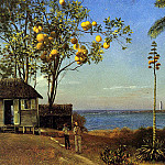 Bierstadt Albert A View in the Bahamas, Albert Bierstadt