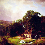 Albert Bierstadt - The Old Mill
