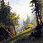 Albert Bierstadt - Bierstadt Albert Among the Bernese Alps