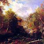 The Emerald Pool, Albert Bierstadt