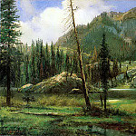 Bierstadt Albert Sierra Nevada Mountains, Albert Bierstadt