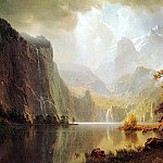 Albert Bierstadt - Bierstadt Albert In the Mountains