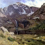 Bierstadt Albert Mountain Lake, Albert Bierstadt