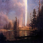 Bierstadt Albert Old Faithful, Albert Bierstadt