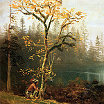 Bierstadt Albert Indian Scout, Albert Bierstadt