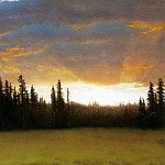 Albert Bierstadt - Bierstadt Albert California Sunset