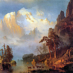 Bierstadt Albert Rocky Mountains, Albert Bierstadt