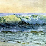 Bierstadt Albert The Wave, Albert Bierstadt
