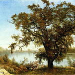 Albert Bierstadt - Bierstadt Albert A View from Sacramento