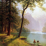 Albert Bierstadt - Bierstadt Albert Kern-s River Valley California