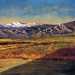 Bierstadt Albert The Grand Tetons, Albert Bierstadt