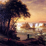 Bierstadt Albert The Falls of St. Anthony, Albert Bierstadt